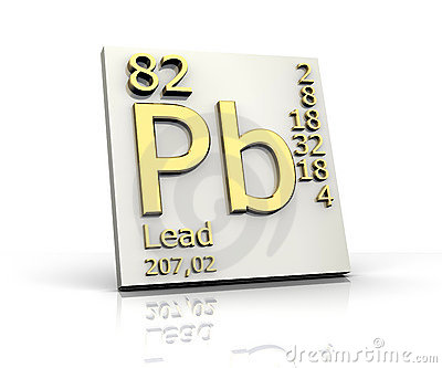 Lead form Periodic Table of Elements