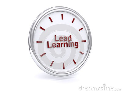 Lead learning button