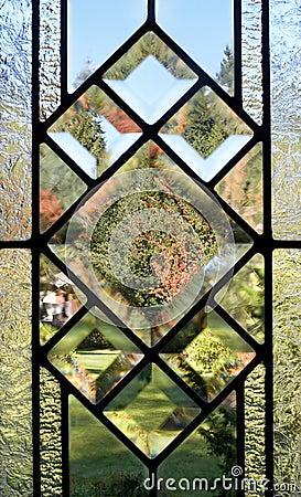 Lead paned window