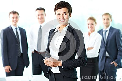Leaded by woman