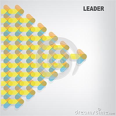 Leader sign