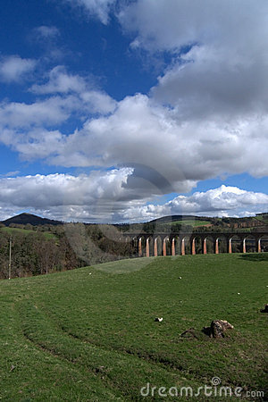 Leaderfoot Viaduct, Borders, Scotland