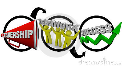 Leadership Plus Teamwork Equals Success