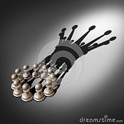 Free Leadership Team Royalty Free Stock Photo - 42272495