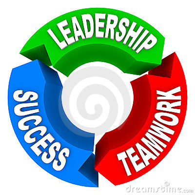 Free Leadership Teamwork Success - Circular Arrows Stock Image - 14147531