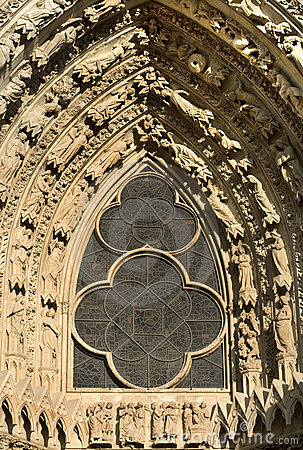 Leadlight Window, Reims Cathedral,