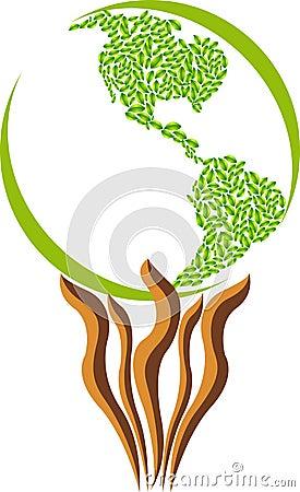Leaf America logo