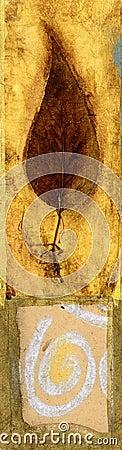 Free Leaf And Swirl Stock Photo - 495010