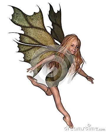 Leaf Fairy Child
