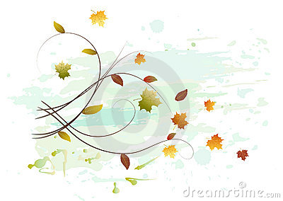 Leaf Fall Stock Image - Image: 10868011