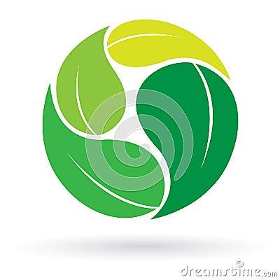 Free Leaf Logo Stock Images - 23135854