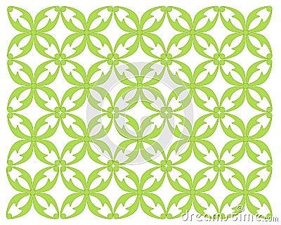 Leaf Motif With Cirlce