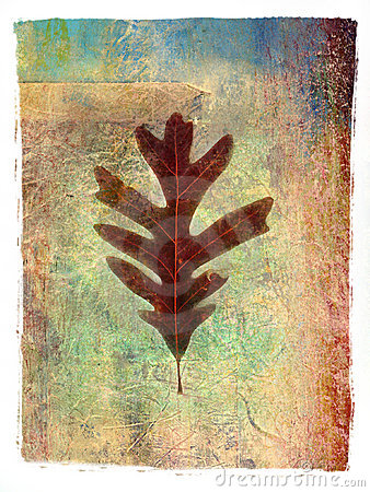 Free Leaf Painting 1 Royalty Free Stock Photo - 57505
