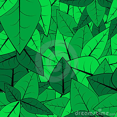 Leaf pattern seamless