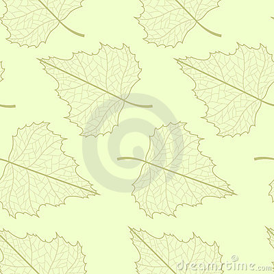 Leaf seamless background.