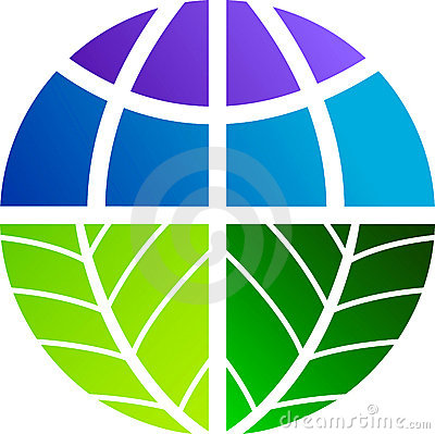 Leaf world logo