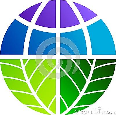 Leaf world logo