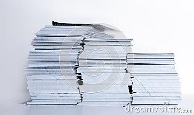 Leaflet stock