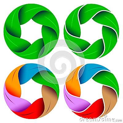 Leafs circle