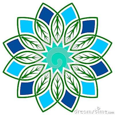 Leafs flower