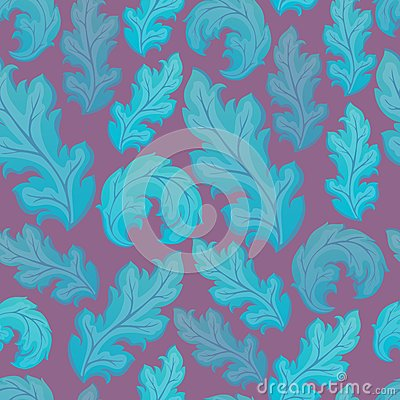 Leafy seamless background 2