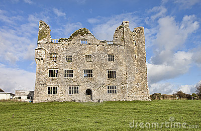 Leamaneh Castle in County Clare, Ireland.