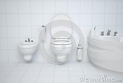 Сlean bathroom