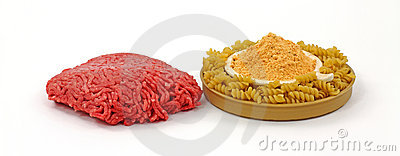 Lean Beef Pasta and Sauce Mix
