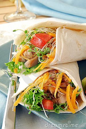 Lean chicken fajitas