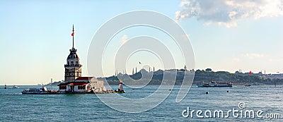 Leanders tower. Istanbul