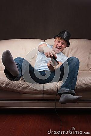 Leaning gamer