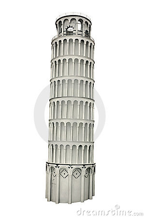 Free Leaning Pisa Tower, Italy Royalty Free Stock Image - 18065786