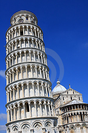 Free Leaning Tower Of Pisa Royalty Free Stock Image - 21214656
