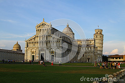 Leaning tower of Pisa Editorial Image