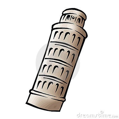 Leaning Tower Of Pisa Cartoon Leaning tower of pisa