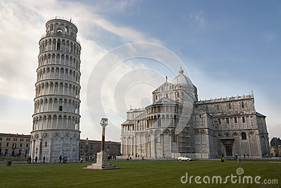 Leaning Tower of Pisa, Duomo di Pisa, Romulus, Remus and Capitoline Wolf