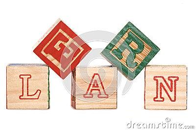 Learn alphabet blocks