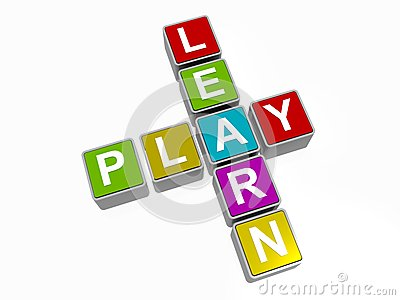 Learn and play sign
