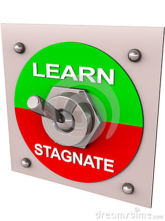 Learn or stagnate