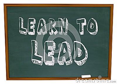 Learn to Lead - Chalkboard