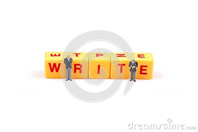 Learn And Write Stock Photo - Image: 16096260