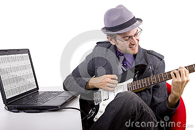 Learning Guitar Online