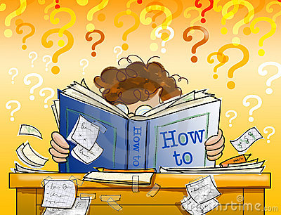 Learning from a how to book