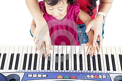 Learning how to play piano