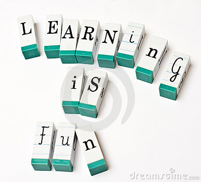 Free Learning Is Fun Royalty Free Stock Photos - 4712518