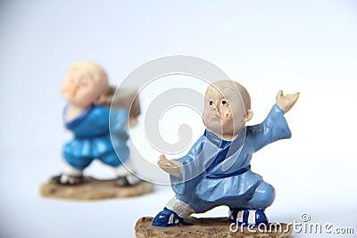 Learning kung fu