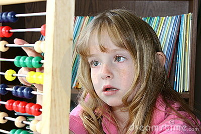 Learning math on an abacus