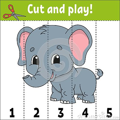 Learning numbers. Education developing worksheet. Game for kids. Activity page. Puzzle for children. Riddle for preschool. Simple Vector Illustration