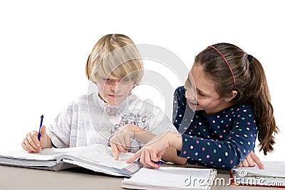 Learning in the school