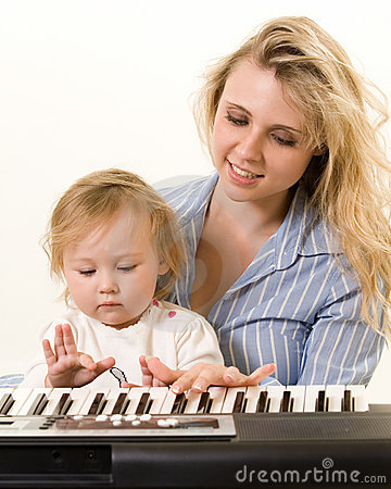 Learning to play keyboard